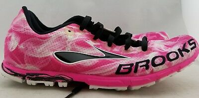 3c20cc28ef0 Brooks Mach 15 Spikeless Running Shoes Pink Women s US Size 6 B EUR 36.5 (D3