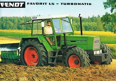 fendt favorit ls 600 615 traktor tractor prospekt brochure englisch eur 7 50 picclick de. Black Bedroom Furniture Sets. Home Design Ideas