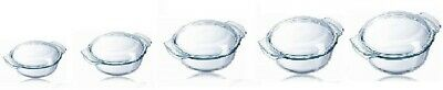 Pyrex Glass Round Casserole Dish- EASY GRIP