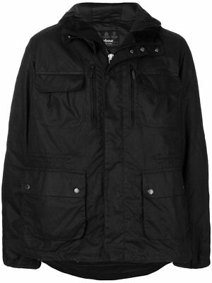 Barbour Men Delta Wax Jacket Mwx1232Bk71