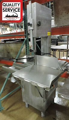 Torrey ST-295-AI Commercial Stainless Steel Meat Band Saw - 1 PH, 220V