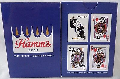 Hamm's Beer Bear Playing Cards Factory Sealed Deck Poker Blackjack NOS St Paul