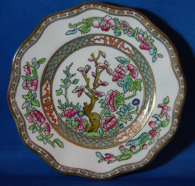 "Coalport Indian Tree China 5 3/4"" Scalloped Edge Bread & Butter Plate 1891-1921"