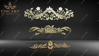 Nice ornament  DXF Router water jet laser DWG and EPS File CNC Plasma O2