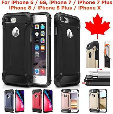iPhone 6 6S iPhone 7 8 Plus iPhone X Case - Shockproof Heavy Duty Armor Cover