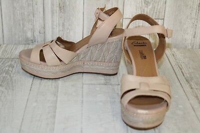 299f7bf910bb CLARKS ZIA NOBLE Wedge Sandals