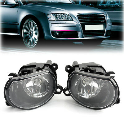 Pair Front Left & Right Fog Light Bulb For AUDI A8 Quattro 2006-08 8P0941699 E1