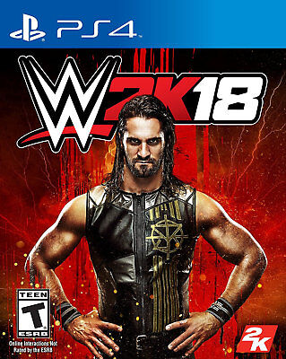 WWE 2K18 PS4 [Factory Refurbished]
