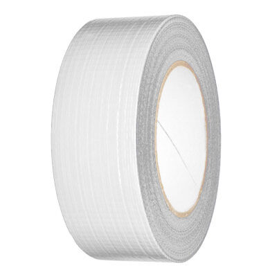 "10 Rolls Of Guffer Guffa Duckt Duck Waterproofe Cloth White Tape 2"" 48mm x 50M"