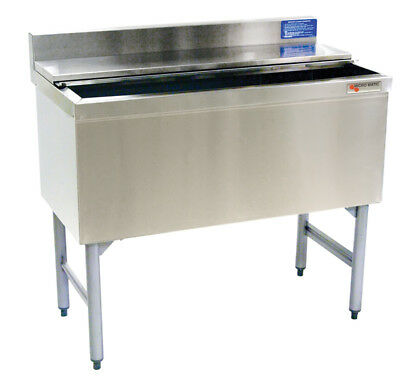 """Commercial Underbar Ice Bin With 8 Circuit Cold Plate 30"""" X 19"""""""