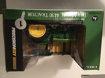ERTL John Deere 4130 WF Precision 1 Tractor Brand New, Never Out of Box