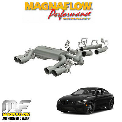 """MAGNAFLOW 3"""" Stainless Axle Back Exhaust System 2015-2018 BMW M4 3.0L L6 19175"""
