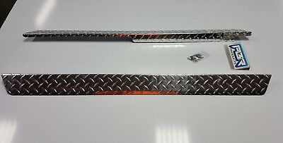 Club Car DS 82 up Golf Cart DIAMOND PLATED  Rocker COVERS