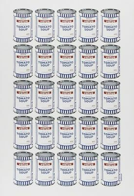 Banksy Soup Cans litho print MINT NO CREASES Dead Mint Condition POW Receipt MBW