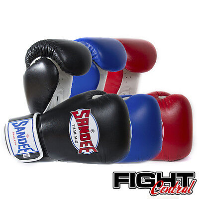Sandee Two Tone Boxing Gloves - All Colours - FREE P&P - MMA, Muay Thai, Kick