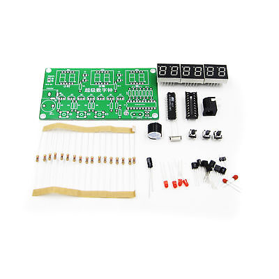 C51 6 Bits Digital Elektronisch Clock Electronic Production Suite DIY BAF