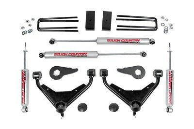 "Rough Country 3"" GM Bolt-On Suspension Lift Kit (01-10 2500 PU/SUV 2WD/4WD)"