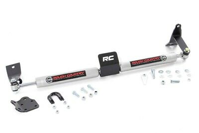 Rough Country Dodge Dual Steering Stabilizer (03-13 Ram 2500 | 03-12 Ram 3500)