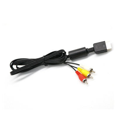 High Quality 6'' AV to RCA Video Audio Cable For Sony Playstation 1,2,3 PSX