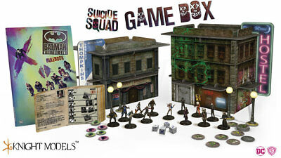 Suicide Squade Game Box by Knight Models