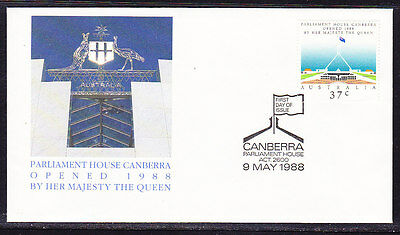 Australia 1988 New Parliament House First Day Cover APM20120