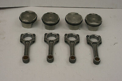 Suzuki Gsxr1300 Hayabusa Pistons And Connecting Rods Oem 99 00 01 02 03 04 05 06