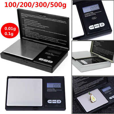 Electronic Mini Digital Gold Pocket Jewellery Weighing Scale 100g/200g/300g/500g