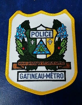Gatineau Metro, Canada Police Shoulder Patch