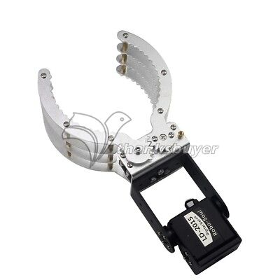 Robot Mechanical Arm 2 DOF Clamp Claw Frame Gripper for DIY Arduino