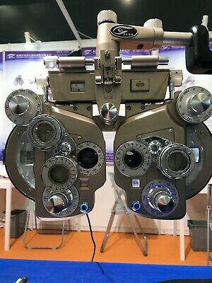 Manual Phoropter LED Lens Refracting Device Optometry Refractor