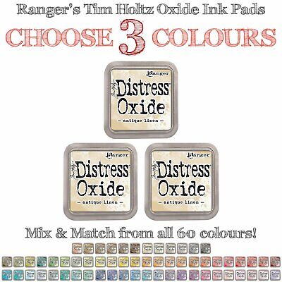 Tim Holtz Distress Oxide Ink Pads - 3 Colours - Choose Your Own