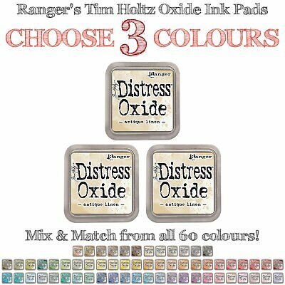 Tim Holtz Distress Oxides - 3 Ink Pads - Choose Your Own Colours