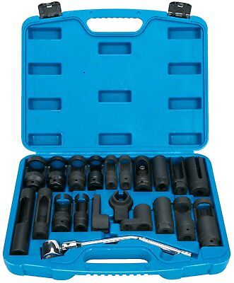 21pcs Oxygen Sensor Socket Set Sensor Oil Pressure Sending Unit Socket Set