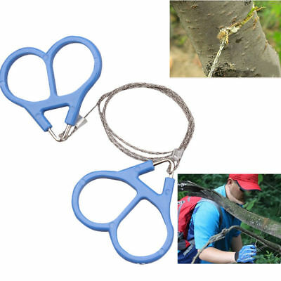 Gear Saw Survival Emergency Pocket Hiking Travel Wire Camping Stainless Steel