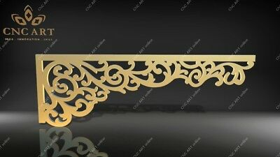 5 Nice curtain decoration DXF, DWG and EPS File For CNC Plasma, Router, laser