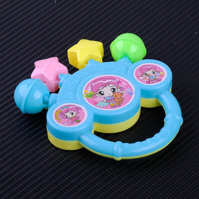 Cartoon Infant Baby Bell Rattles Hand Gift Music Toy For Newborns Children Toys