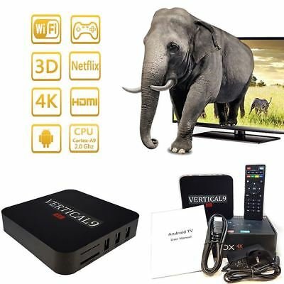 New Android 6.1 4K Quad core Smart TV Box Multimedia Gateway Media Player