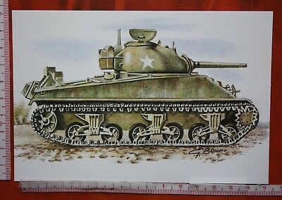 "Usa 1942 Medium Tank - M4 "" Sherman "" - Carro Medio    ( Brumo )"