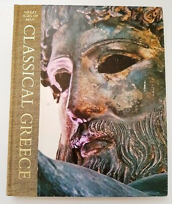 Great Ages Of Man CLASSICAL GREECE Greek TIME LIFE Historical Travel Guide Book