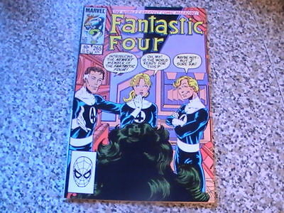 Fantastic Four # 265  Copper Age - She Hulk