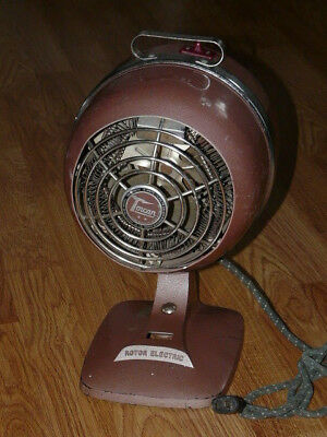 Vintage Antique Retro Fan - Heater Torcan Model #26 - Tested and Works Well