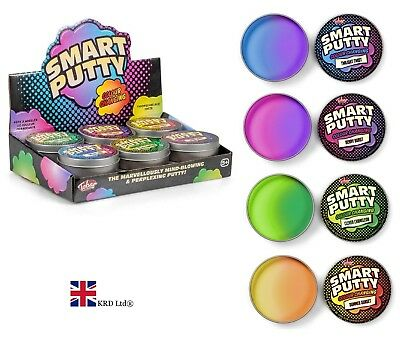 COLOUR CHANGING SMART PUTTY TUB Kids Stress Relief Slime Toy Birthday Gift UK