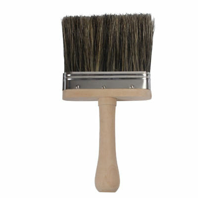 "ProDec Grey Bristle Dusting Brush 4"" for Painters, Cabinetmakers & Carpenters"
