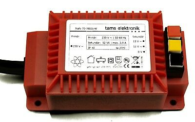 Tams 70-09021-01 52 VA-Wechselspannungs-Trafo (18 V / 2,9 A)