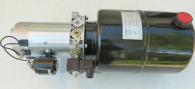 24 Volt 24 Hydraulic Power Unit for Kipper Without Cable E - Control Panel