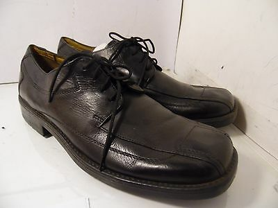 Nxxt Nunn Bush Black Leather Casual Oxfords Mens Size 13 M Made in India