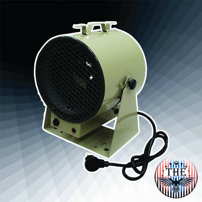 10 FT 4000/3000W 240/208V Air Throw Fan Forced Portable Heater w/ 6 FT Long Cord