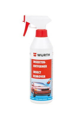 Genuine Wurth Insect Remover Window Cleaner Cleanser Remover 500ml