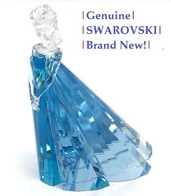 Swarovski Disney Frozen ELSA LE Color Crystal Figurine 5135878 NEW in Gift Box!