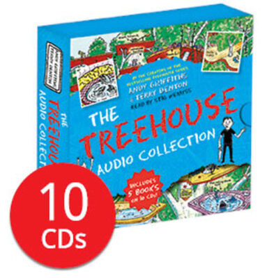 The 13-Storey Treehouse Audio Book Collection - 10 CDs
